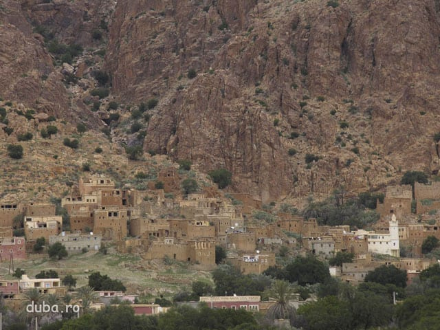 Oumesnat - un sat la poalele Anti-Atlasului