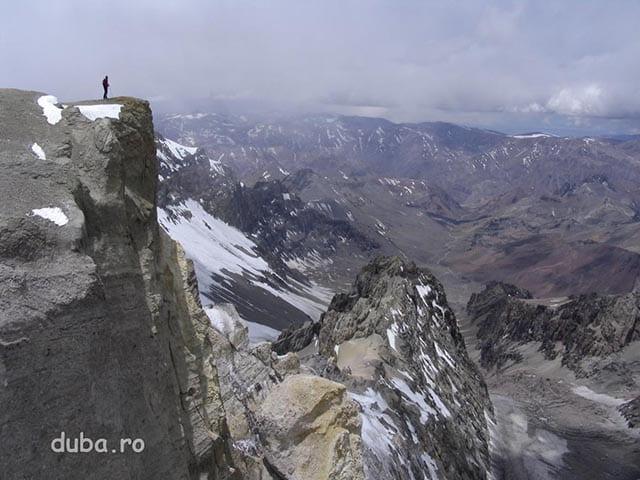 Cata, pe Aconcagua, in apropiere de T2