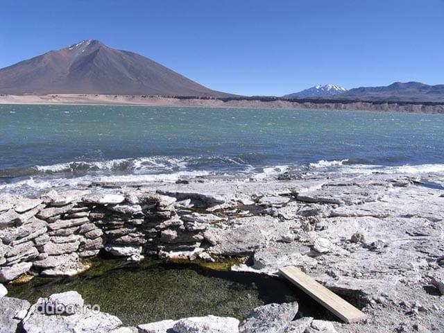 izvor termal langa Laguna Verde