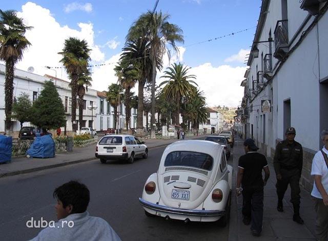 Sucre - capitala constitutionala a Boliviei (La Paz este capitala administrativa)