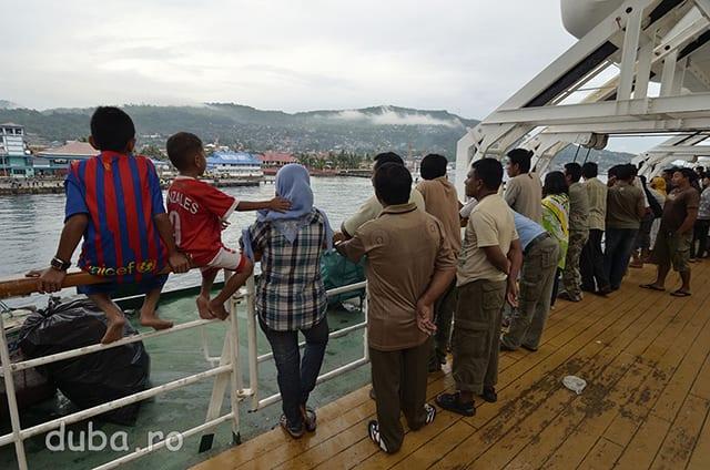 Dupa 3 zile ajungem in Portul Ambon.